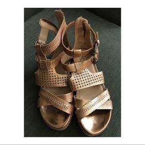 Crown Vintage Bronze Gladiator Sandals